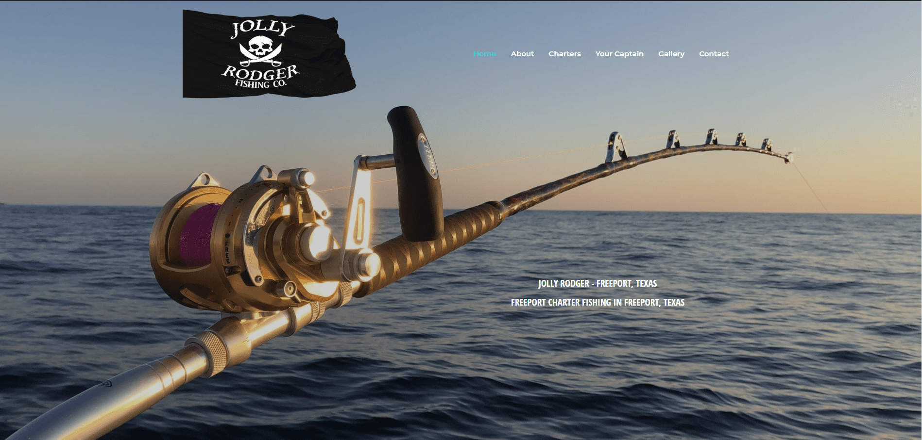 """<p align=""""center"""">Freeport Charter Fishing<br> Deep Sea fishing on the Jolly Rodger in Freeport, Texas  Best Charter Fishing in Freeport, Texas.</p>"""